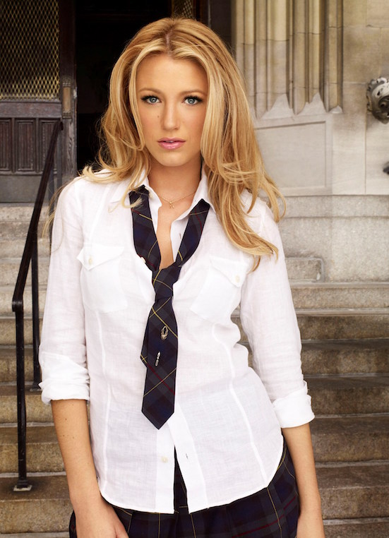Gossip Girl Pictured: Blake Lively as Serena Photo Credit: Andrew Eccles / The CW © 2007 The CW Network, LLC. All Rights Reserved.